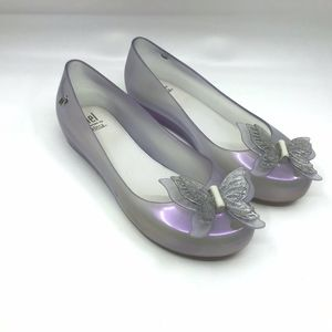 l Melissa Ultragirl Glass Butterfly shoes Size 2